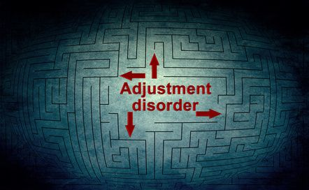 Adjustment disorder in children of divorce